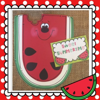 Summer:Watermelon Craft:Class Book: Student Book: Life Cycle