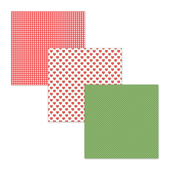 Summer Watermelon Digital Paper Backgrounds Textures Scrapbook Paper