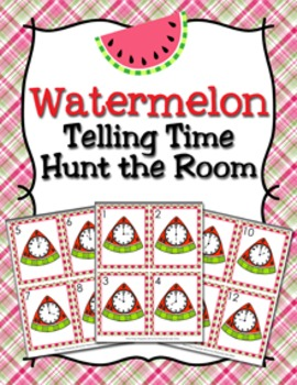 Summer Watermelon Time to the Hour Hunt the Room