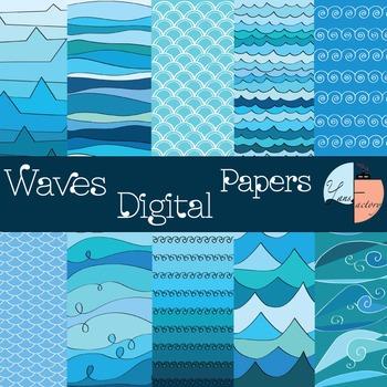 Summer Digital Paper / Pattern
