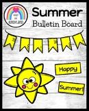 Summer Weather Bulletin Board, Door Decor: Sun Craft, Writ