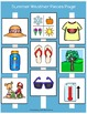 Summer Weather Matching Book (Adapted Book)
