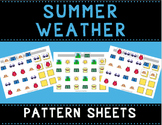 Summer Weather Pattern Mats