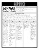 Summer Weather (Science Extensions)