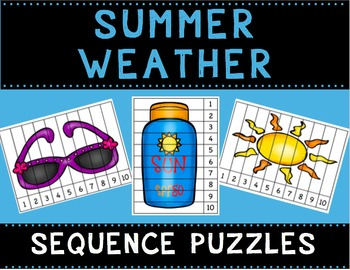 Summer Weather Sequence Puzzles