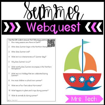 Summer Webquest