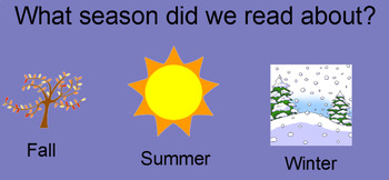 """Summer """"Wh"""" Questions (Interactive SmartBoard Activity)"""