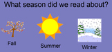 "Summer ""Wh"" Questions (Interactive SmartBoard Activity)"