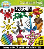 Summer Wooden Block Rods Clipart {Zip-A-Dee-Doo-Dah Designs}