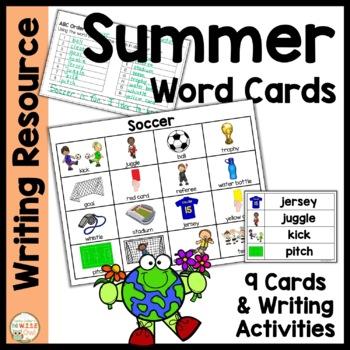 Word Cards:  Summer BUNDLE