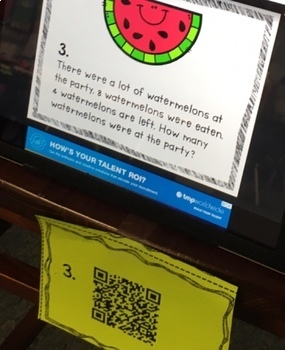 Summer Themed Word Problems ~ Puzzles, QR Code Hunt & more!