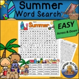 Summer Word Search  Easy
