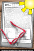 Summer Word Search & Summer Writing Worksheets