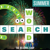 Summer Word Search Puzzle - 3 Levels Differentiated
