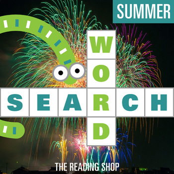Summer Word Search for Primary Grades - Wordsearch Puzzle