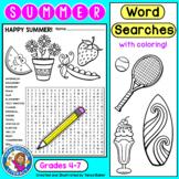 Summer Word Searches - Intermediate {Gr 4-7}