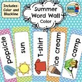 Summer Word Wall