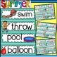 Word Wall: Word Wall and Tracing-Summer (handwriting, June, July)