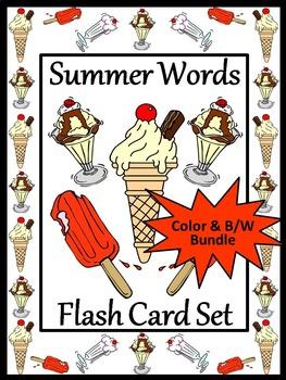 End of Year Activities: Summer Words Bundle