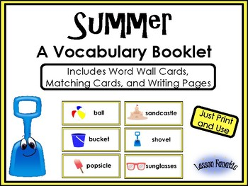 Summer Words: A Writing Booklet