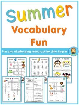 Summer Vocabulary Practice Fun