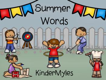 Summer Words {Freebie}