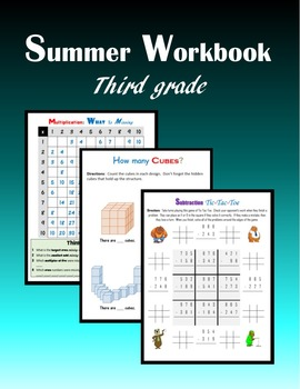 Summer Workbook:  Third grade
