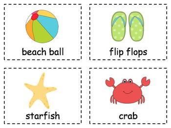 Summer Write and Stamp the Room Activities