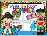 Summer Write the Room
