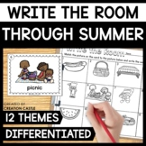 Summer Write the Room Bundle