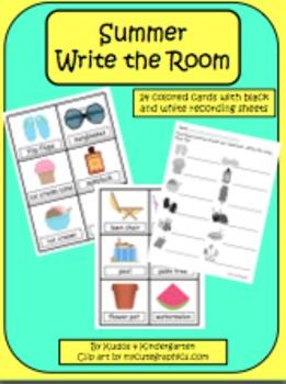Summer Write the Room Set