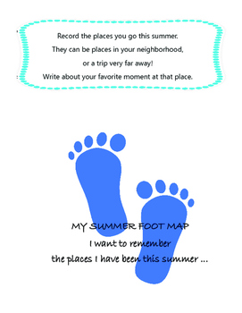 Summer Writer's Notebook- prompts inspired by Mr. Cornell's Dream Boxes