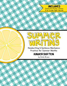 Summer Writing!