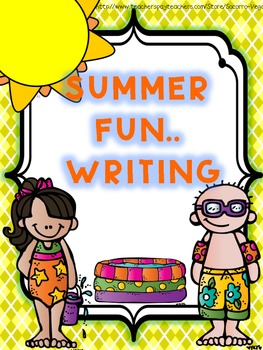 Summer Writing!