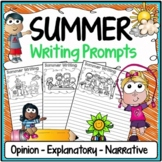 Summer Writing Prompts {Narrative Writing, Informative & Opinion Writing}