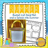 Summer Writing Bucket List and Poster