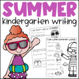 Summer Writing for Kindergarten