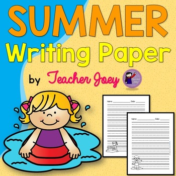 Summer Writing Paper