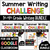 Summer Writing Distance Learning: Summer Writing Prompts C