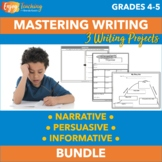 Summer Writing Activities Bundle for Fourth Grade and Fifth Grade