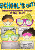 Summer Writing Activities and Craft