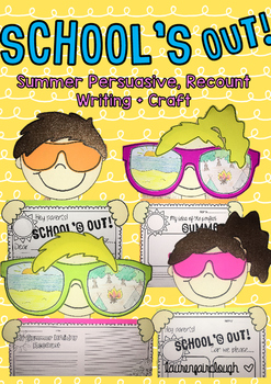 681326f452f8 Summer Writing Activities and Craft by Lauren Fairclough | TpT