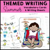 Themed Writing Activity Summer