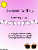 Summer Writing Activity Pack