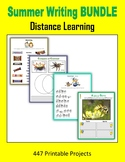 Summer Writing BUNDLE - Distance Learning