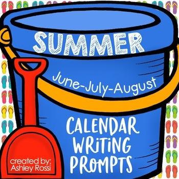 Summer Writing Prompts | 2020 summer journaling