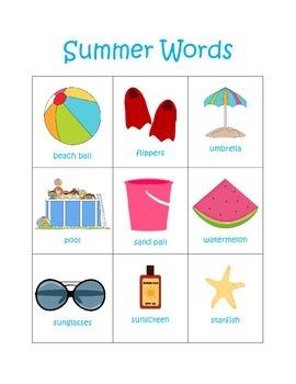 Summer Writing Center Packet