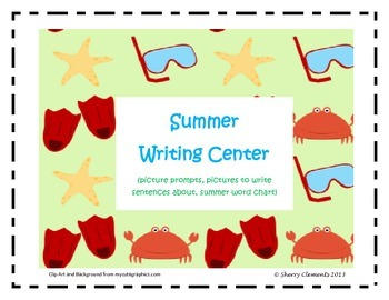 Summer Writing Center Packet