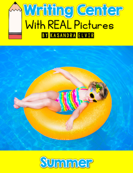 Summer Writing Center with REAL Pictures
