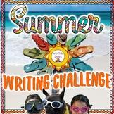 Summer Writing Challenge Resource